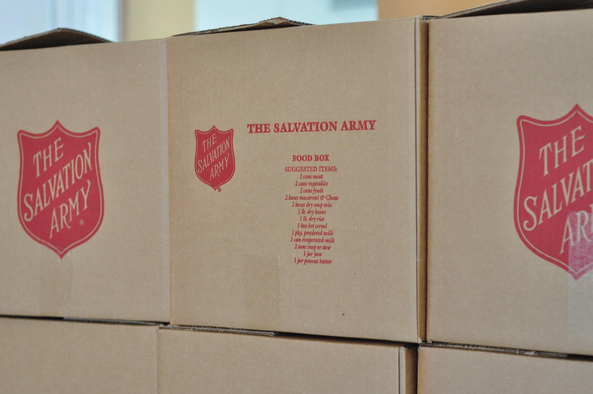 Salvation Army Soup Kitchen Waco