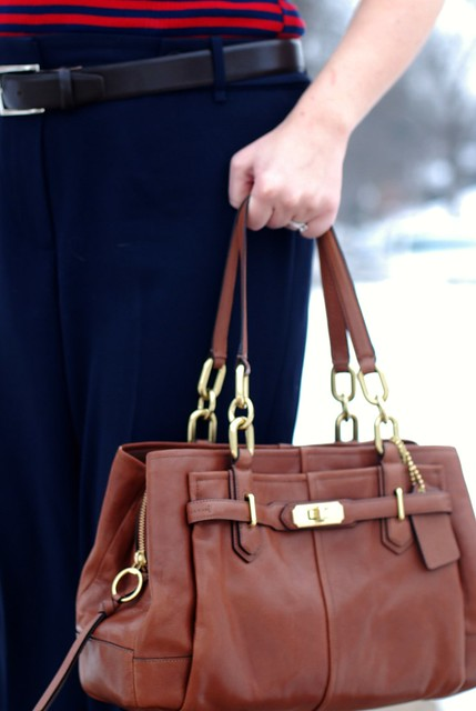 02262013 Cognac Coach Purse