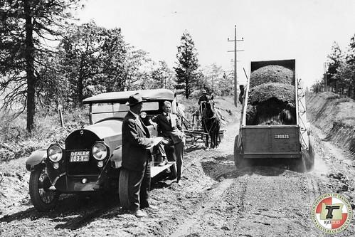 Road construction - 1921