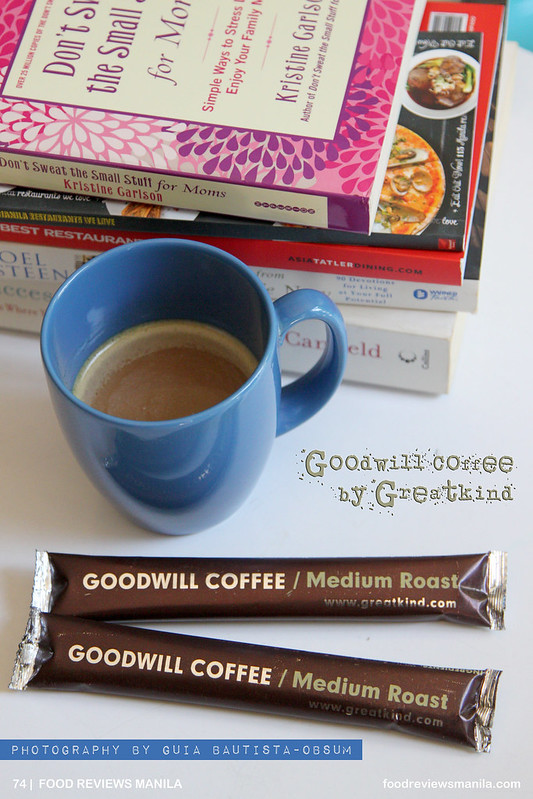 A Small Cup of Goodwill Coffee