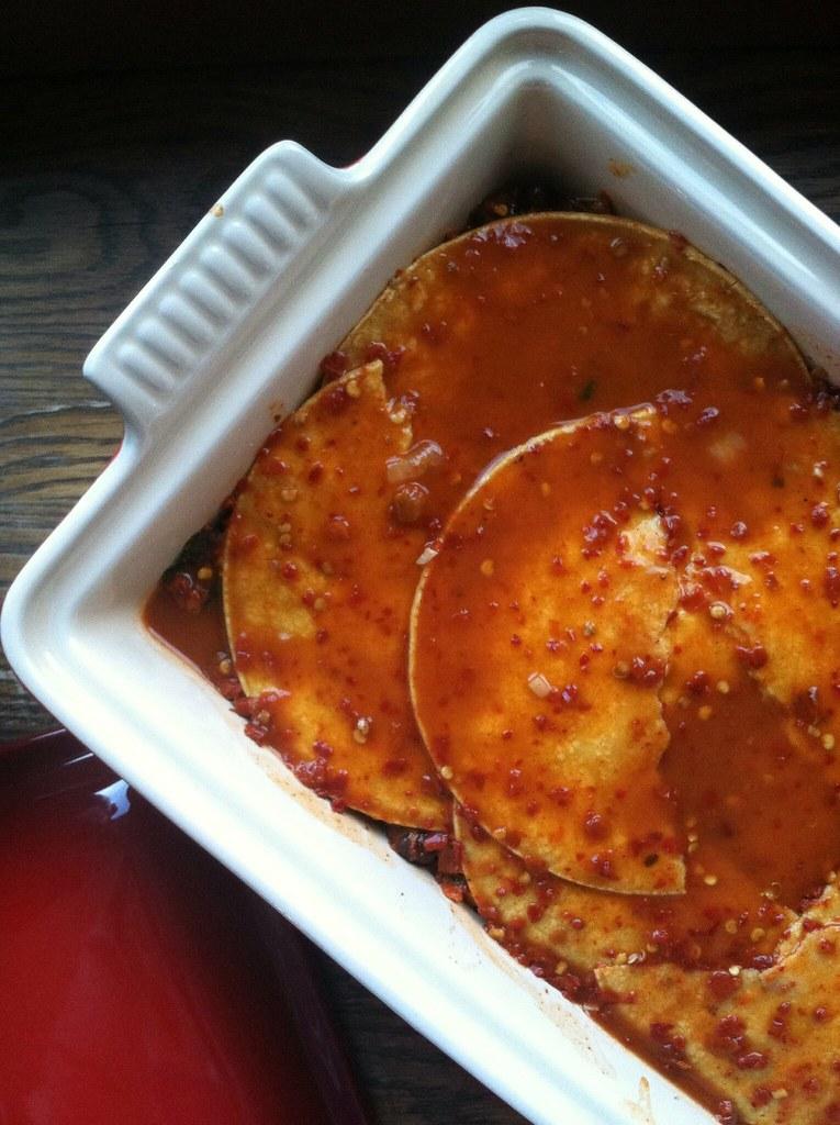 Vegan Black Bean Enchilada Casserole  RootedVegan.com