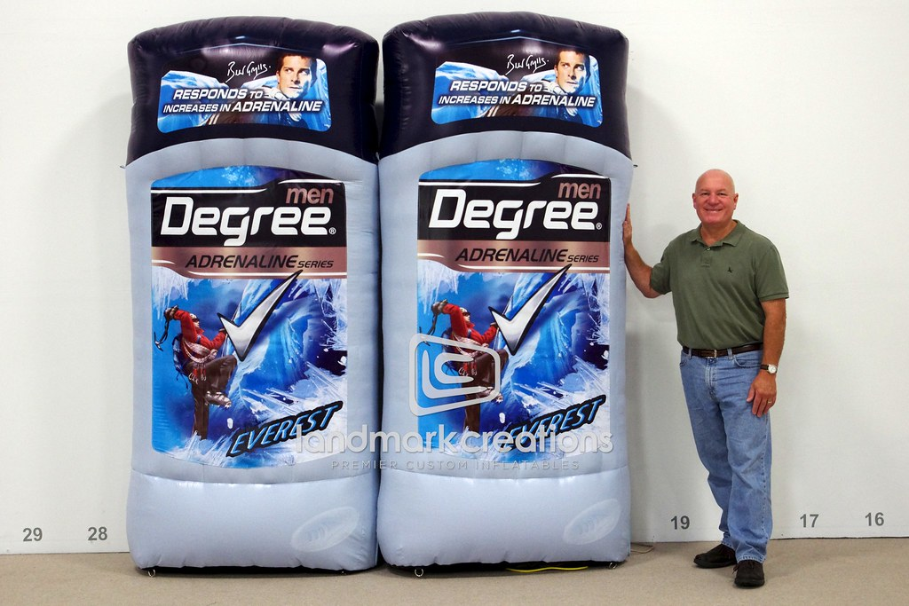 Degree Everest Inflatable Deodorant Replica