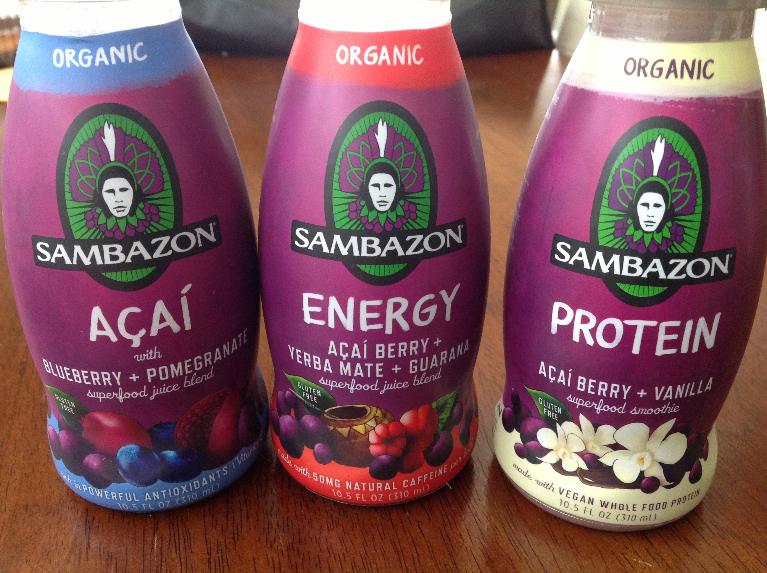 Sambazon Smoothies & Juices