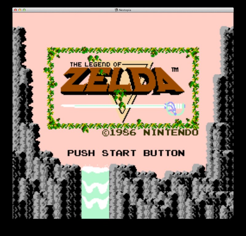 Nestopia NES emulator for OS X