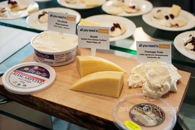 Flavours of the Festival/Canadian cheese assortment