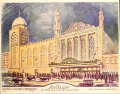 Avalon Theatre, Chicago, IL  (1926 artwork)