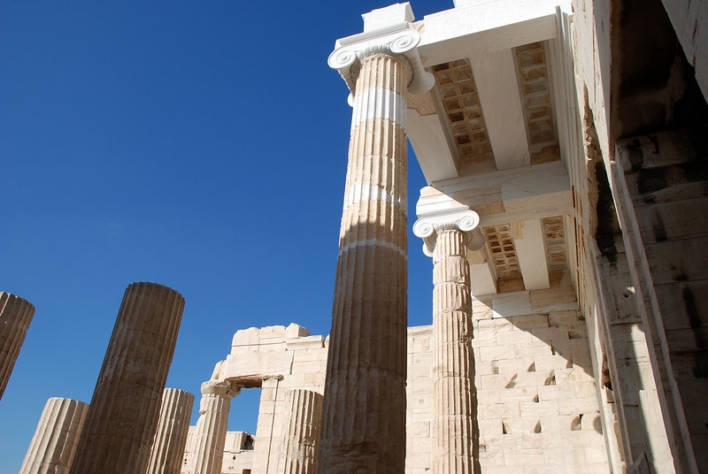 Propylaea Central Building, Acropolis, Athens, GREECE