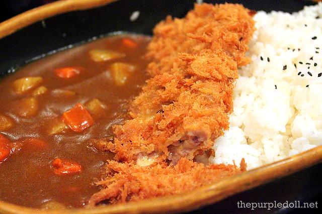 Menchi Katsu Curry