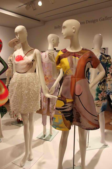 Digital Print Fashion Exhibit