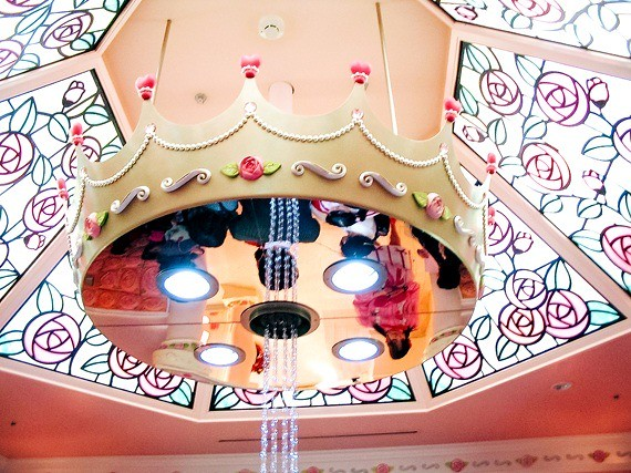 Sanrio Theme Park - Puroland - roof