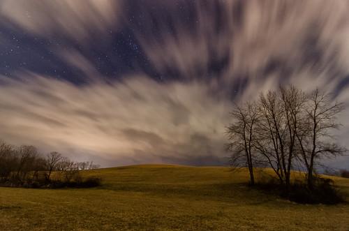 clouds stars march va nightsky daleville 2013