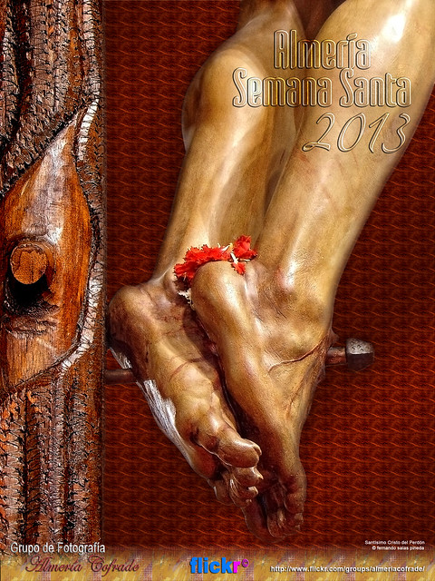 Cartel de Semana Santa Grupo Almería Cofrade en flickr