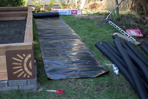 sub-irrigated raised garden bed supplies