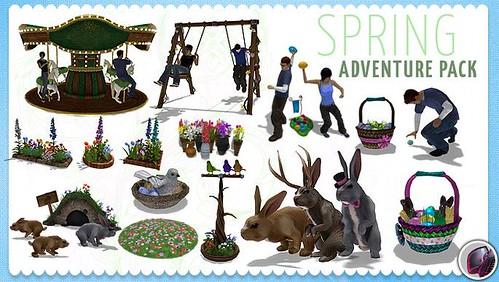 Springtime Adventure Pack (Juggernaut Games)