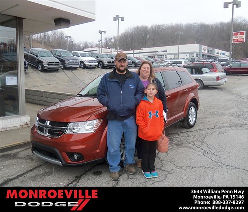 Congratulations to Tracey Eckman on the 2013 Dodge Journey by Monroeville Dodge