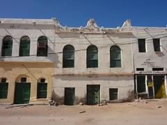Arquitectura no centro de Berbera