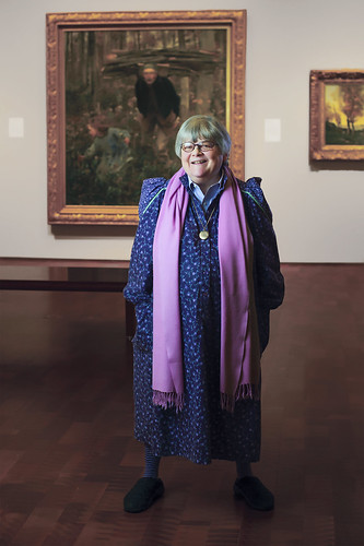 Feature Image: Barbara Brown Lee in the galleries