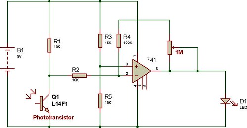 Experiments With 741 Operational Amplifier Buildcircuit