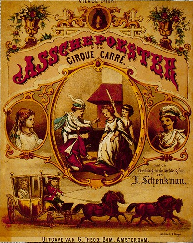 bookcover Assepoester in CIrcus Carre 1876