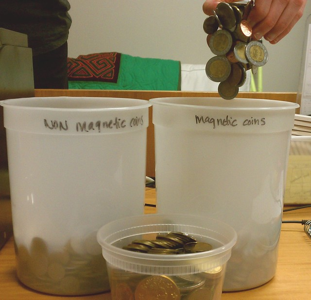 Ever wonder what we do with the coins from our coin vortex? Find out on today's blog!