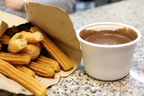 Churros and chocolate_5562