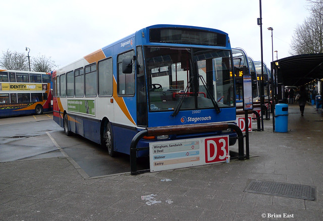 Stagecoach East Kent 20007 Canterbury Bus Station 16 03 20