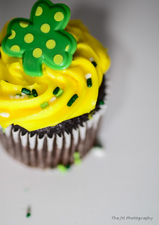 Cupcake for St. Patrick 2013