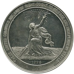 National Commemorative 58 mm Rev