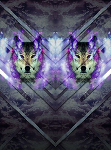 The wolf By Antoine McCormick by Antoine McCormick Graphic Designer
