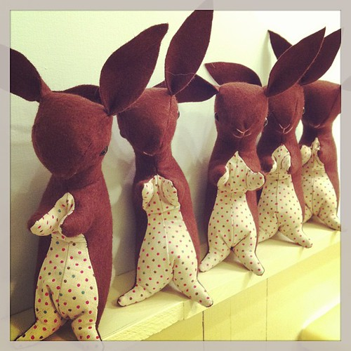 Chocolate bunnies!