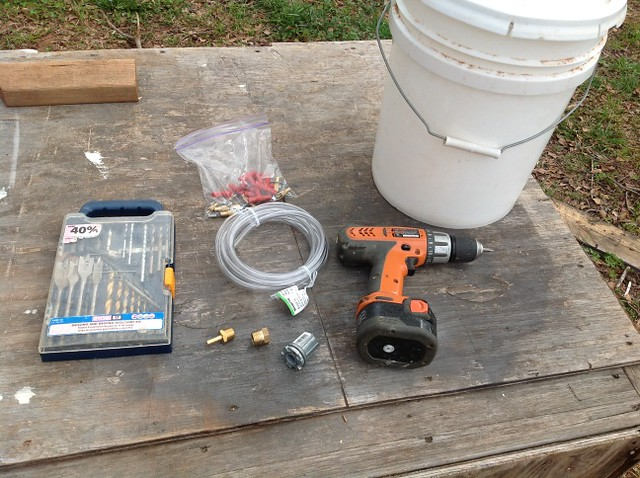 Pvc Water Systems : Rabbit watering system the adventure bite