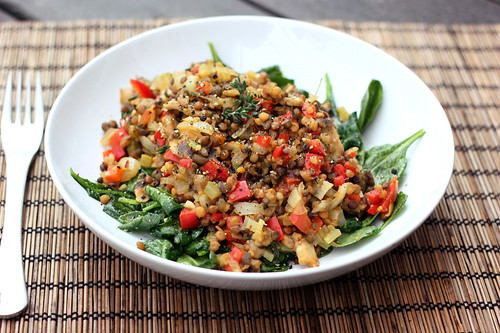 Spring Cleanse: Warm Lentil Salad - Gluten-free + Vegan - Tasty ...