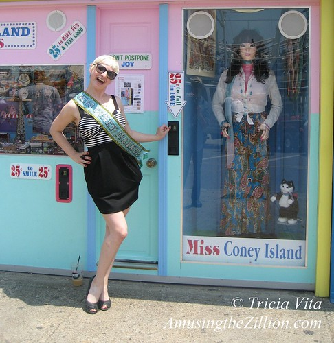 Miss Coney Island Meets Miss Coney Island