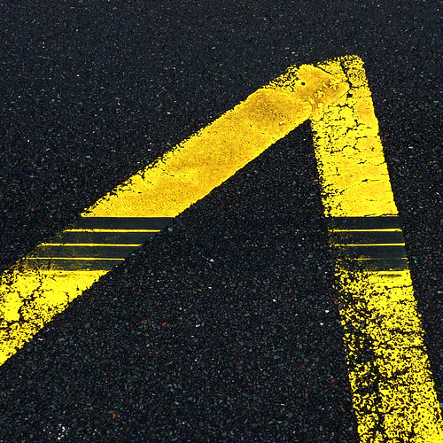 yellow lines with black lines by pho-Tony
