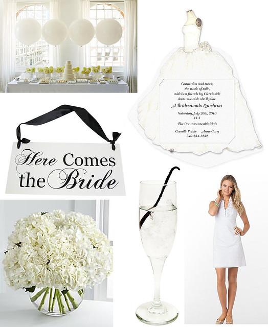 Dressed in White: A Bridal Shower