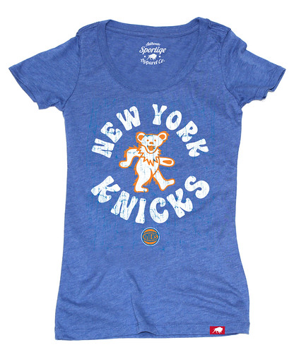 Women's New York Knicks Grateful Dead Shirt