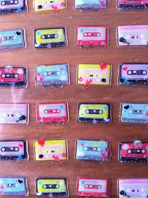 Papermania cassettes stickers