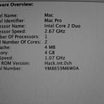 Mac Pro Hardware Overview
