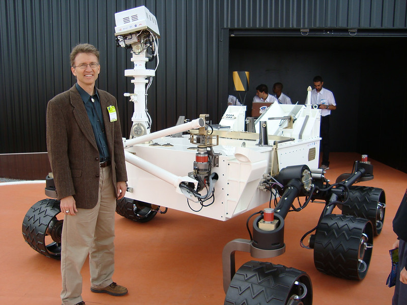 Roger Wiens and the Curosity rover