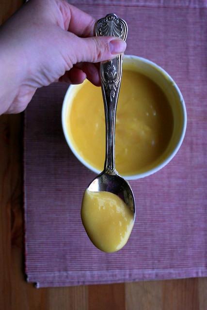 Plumcake al lemon curd