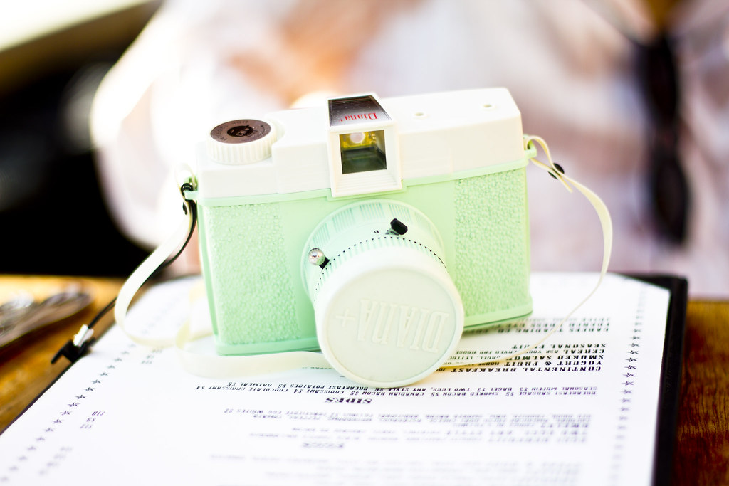 Neelo's mint green Lomography Diana