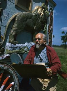 Artist Robert Herzberg: Sarasota, Florida