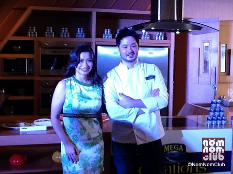 Chef Greg Villalon with Chef Rose Bud