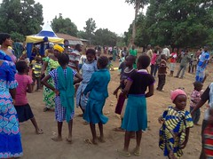 Celebrating in Fadan Karshe, Kaduna, Nigeria.