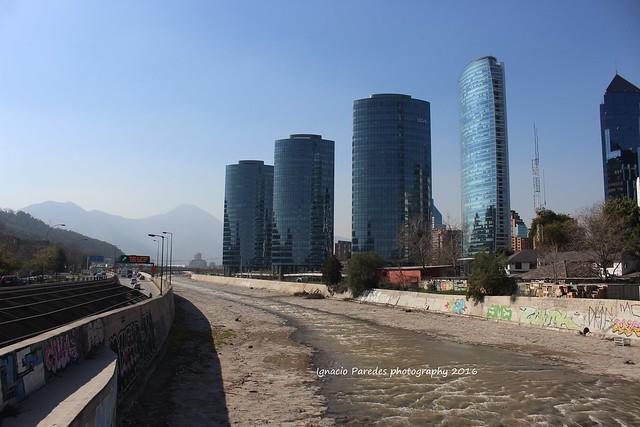 SKYLINE SANTIAGO CHILE
