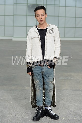 G-Dragon Chanel Show Paris - Press Photos - Getty Wire - 20150127 - 5