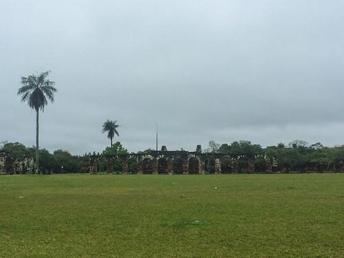 Trinidad: maisons des indigènes de la mission jésuite