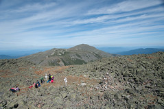 Caps Ridge Trail, Mt. Jefferson, White Mountains, NH