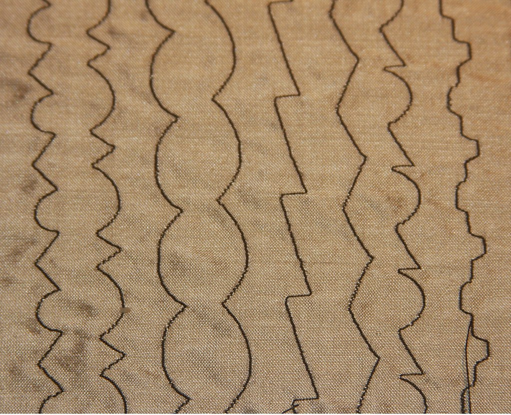 BASIS FOR ALL DECORATIVE STITCHES