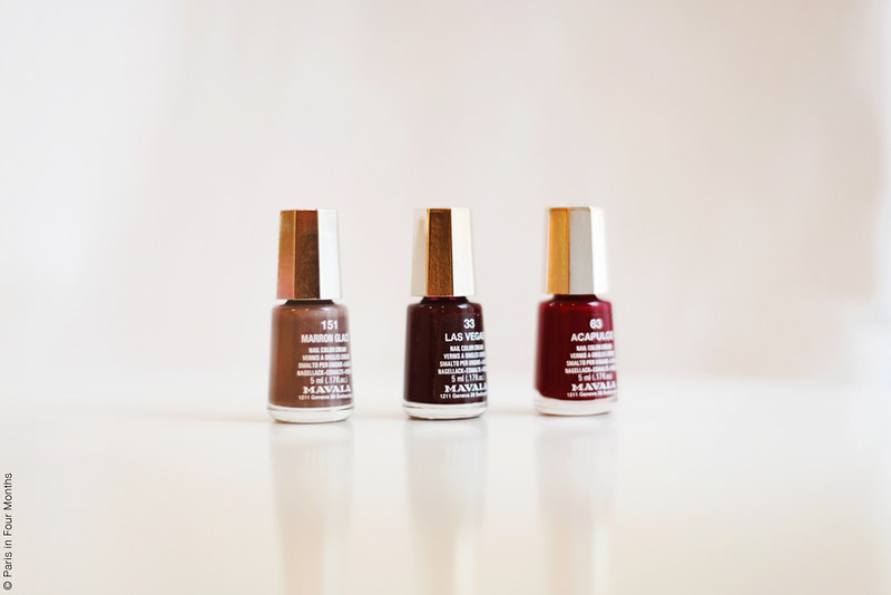 Nail Polishes by Carin Olsson (Paris in Four Months)
